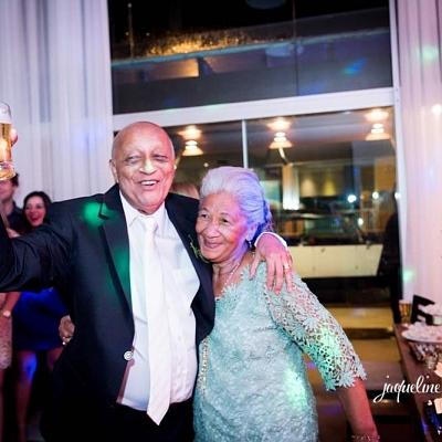 Bodas de Ouro Sr Guinaldo e Sra Joventina -